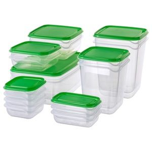 17 Containers - Pruta IKEA Food Containers